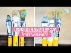 Make It Yourself, Gifts, Diy, Youtube, Paper Craft Supplies, Diy And Crafts, Cleaning Paint Brushes, Paintings, Mosaics