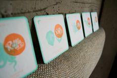RIFFLE NW on Behance #riffle #branding #drink #identity #nw #coaster