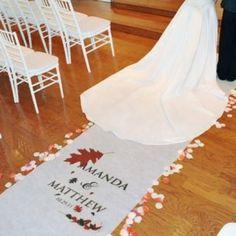 tappeto matrimonio