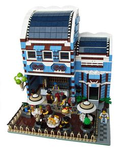 LEGO Ice Cafe #restaurant #bistro #moc #ice