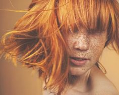 red hair AND freckles!