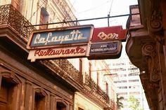 old signs in Havana