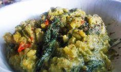 Healthy Dinner: Vegan Pesto Rice Casserole - Peaceful Dumpling | Peaceful Dumpling