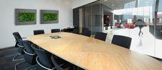 Vertical garden in the office