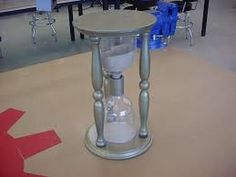 make our own Hour glass prop for Wizard of OZ/ awesome idea! Probably can make a cheaper version for our little party! Wizard Of Oz Play, Wizard Of Oz Musical, Theatre Props, Stage Props, Theater, Recycled Bottles, Recycle Plastic Bottles, Freaky Friday Musical, Halloween Fun