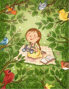 LecturImatges: la lectura en imatges Investigando: leo y tomo notas (ilustración de Laura Logan)