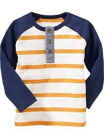 Raglan-Sleeved Tees for Baby Product Image Toddler Boy Fashion, Little Boy Fashion, Toddler Boy Outfits, Baby Kids Clothes, Kids Outfits, Boys T Shirts, Cool Shirts, Baby Boys, Toddler Boys