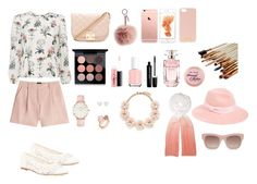 """Spring day outfit"" by frog60 ❤ liked on Polyvore featuring McQ by Alexander McQueen, Soludos, Forever 21, Fendi, August Hat, Henri Bendel, Feather & Stone, MAC Cosmetics, Elie Saab and Essie"