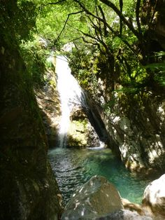 Canyoning Adventure at Via Ferrata Karpenisi Evrytania Greece