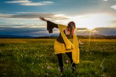 Super fun photo shoot the other day with Karrie Ann. I got to play with the bees 🐝  I'm wearing my Bee Brave Shawl  and Bee You Skirt 😊 . . Go to @shantistitches for a link to the patterns. Part of the Hive Consciousness Collection these patterns are dedicated to the bees!!  ✨🐝🍯🐝🍯🐝✨ 10% of the sales will be donated to organizations that work to help the bees 🐝  and create sanctuaries through outreach  and education 🌏 . . . #savethebees #havingfun #funlife #colorfullife