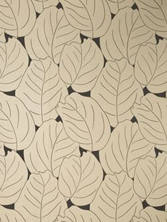 """Dufy leaf"" based on a Dufy's drawing , wallpaper by Osborne & Little"