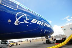 Front of Boeing 787 Dreamliner at Singapore Airshow 2012 by ♥myu, via Flickr