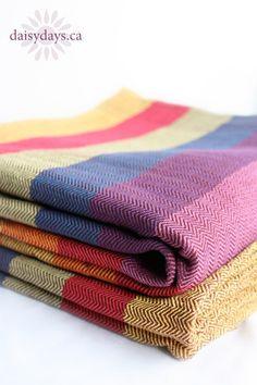 Love the new herringbone weave on the Girasol Tulip #wovenwrap! #babywearing http://www.daisydays.ca/collections/woven-wraps/products/girasol-tulip
