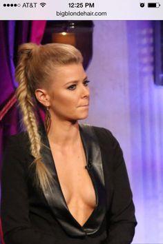 Fishtail ponytail braid.  * Ariana, Vanderpump Rules