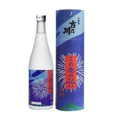 吉野川 この空の花 吟醸 新潟県産米55% 720ml/1,470円(新潟)