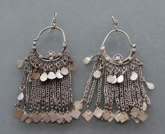 A pair of Earornaments from Afghanistan