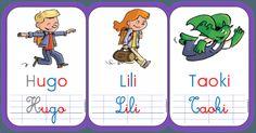 personnages de taoki