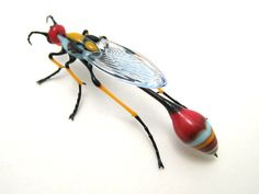mod dauber4 Wesley Fleming Makes Amazing Bugs Out of Glass!
