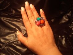 Multi Colored Ring $5 Qty 6