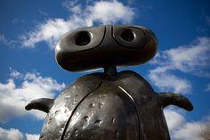 Joan Miró's sculptures reveal how the challenge of a new medium inspired the artist in his final years // 'Personnage' // ©Jonty Wilde 3d Art, 3d Art Sculpture, Spanish Artists, Yorkshire Sculpture Park, Sculpture, Sculpture Exhibition, Art And Architecture, Joan Miro, Street Art