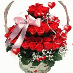 The perfect Flowers Roses Hearts Animated GIF for your conversation. Discover and Share the best GIFs on Tenor. Beautiful Flowers Images, Beautiful Gif, Flower Images, Beautiful Roses, Roses Gif, Flowers Gif, Love Flowers, Gifs Lindos, Christmas Wreaths