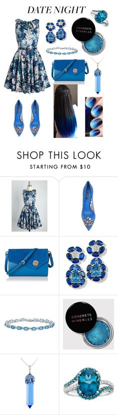 """Blue valentine"" by ashleyhuang68 ❤ liked on Polyvore featuring Closet London, Dolce&Gabbana and Simone I. Smith"