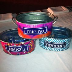 Personalized Tins. #fundesigns #partyfavors #somanyuses #personalizedgifts #gifts @themacbethcollection