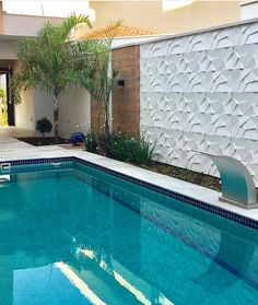 30 best creative swimming pool design for backyard inspiration 2 Backyard Pool Designs, Small Backyard Pools, Small Pools, Swimming Pools Backyard, Swimming Pool Designs, Garden Pool, Pool Landscaping, Patio Design, Outdoor Pool