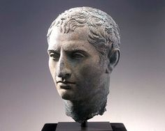 Hellenistic Life-size Bronze Head of a Man Bronze, 3rd-2nd century B.C.E.