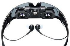 The Virtual Screen Video Glasses Incorporate Audio and Visual #sunglasses trendhunter.com