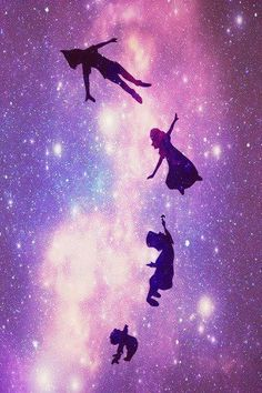 Peter Pan~ take me to neverland Disney Love, Disney Magic, Disney Art, Disney Pixar, Disney Characters, Peter Pan Disney, Peter Pan Wallpaper, Wallpaper Iphone Disney, Tinkerbell Wallpaper