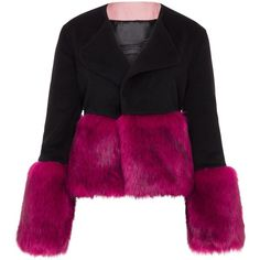 Vjera Vilicnik - Nicki Jacket Black (£315) ❤ liked on Polyvore featuring outerwear and jackets