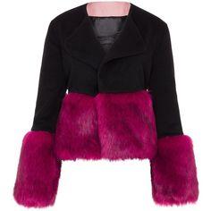 Vjera Vilicnik - Nicki Jacket Black (24.250 RUB) ❤ liked on Polyvore featuring outerwear, jackets, coats & jackets and loose jacket