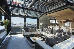 Arcadia 85, le yacht eco luxe