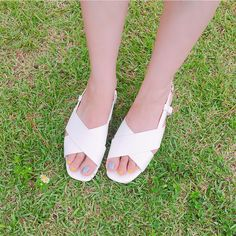 Time for a with these Insta-chic and comfy sandals from Daily About! Asian Street Style, Korean Street Fashion, Asian Fashion, Denim Cutoff Shorts, Casual Outfits, Fashion Outfits, Girl Things, Korean Women, Strap Sandals