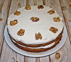 Dulces Postres Magdalena: Layer Cake de Café con Nueces (paso a paso)