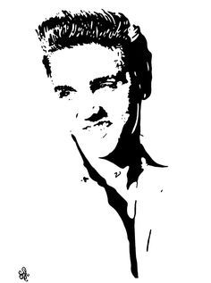 Image result for elvis clipart scroll saw