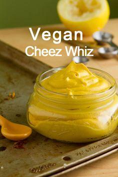 Vegan Cheez Whiz