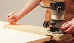 <strong>Shop Jig: </strong>When working with sheet stock, thick solid wood edge banding will give you greater design flexibility than thin commercially available iron-on veneer tape. Use this jig and your router to trim edge banding flush with the surface of your sheet stock.<br />