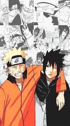 Naruto uzumaki and Sasuke Uchiha Naruto Vs Sasuke, Anime Naruto, Manga Anime, Naruto Shippuden Anime, Sasuke Sakura, Boruto, Sasunaru, Narusasu, Naruhina