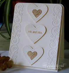 MMTPT Wedding Wishes CKM by LilLuvsStampin - Cards and Paper Crafts at Splitcoaststampers