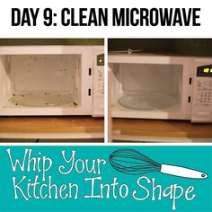 Deep clean microwave