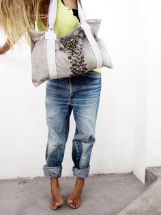 Love the roomy jeans!!  Nice every now and then when a girl just doesn't wanna feel squeezed......