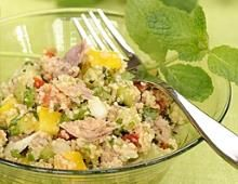 Tasteful Healthy Lunch Ideas with High Nutrition for Beloved Family Healthy Dinner Recipes, Cooking Recipes, Food Porn, How To Cook Quinoa, Healthy Drinks, Cilantro, Food Inspiration, Salad Recipes, Entrees
