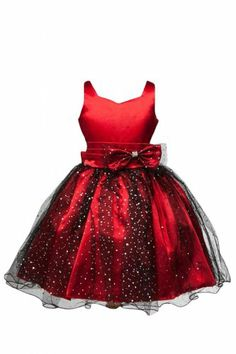 Sweet Kids Girls Fan Embroidered Mesh Taffeta Flower Girl Dress 2 ...