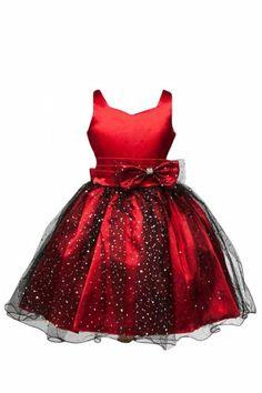 Sweet Kids Girls Fan Embroidered Mesh Taffeta Flower Girl Dress 6 ...