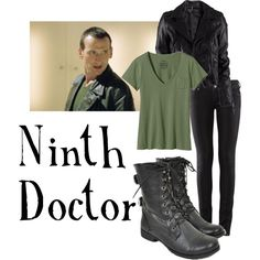 """""""Ninth Doctor for women"""" by companionclothes on Polyvore"""