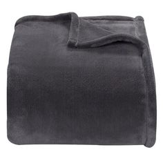 Threshold™ Microplush Blanket...put this blanket folded up at the end of the bed for some added color.