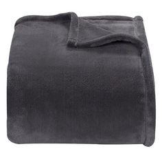 grey or navy   Threshold™ Microplush Blanket
