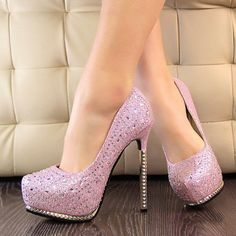 Women's Stilettos Pointed Toe High Heel Pumps Platforms Party Shoes & Wedding Shoes Silver Gloden Pink Black Shoes Wotefusi http://www.amazon.com/dp/B00J96JUAM/ref=cm_sw_r_pi_dp_O70hub0M5PEZC